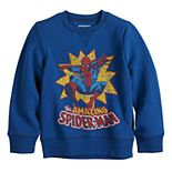 Boys 4-12 Jumping Beans® Marvel Spider-Man Fleece Top