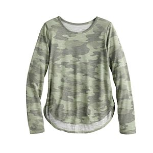 Girls 4-20 & Plus Size SO® Graphic Tee