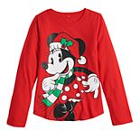 Disney's Minnie Mouse Girls 7-16 Christmas Graphic Tee by Family Fun?