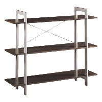 Office Star™ Products 3-Shelf Bookcase