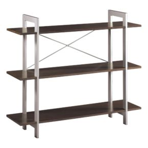Office Star Products 3-Shelf Bookcase