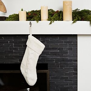 Barefoot Dreams® Cozychic® Cable Knit Holiday Stocking