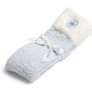 Disney's Frozen Women's Barefoot Dreams® Cozychic® Socks