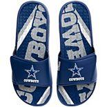 Men's FOCO Dallas Cowboys Gel Slide Sandals
