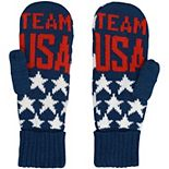 Men's Navy Team USA Stars Mittens