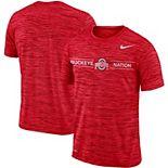 Men's Nike Scarlet Ohio State Buckeyes Velocity Sideline Legend Performance T-Shirt