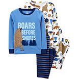 Boys 4-14 Carter's 4-Piece Cotton Bear Pajama Set