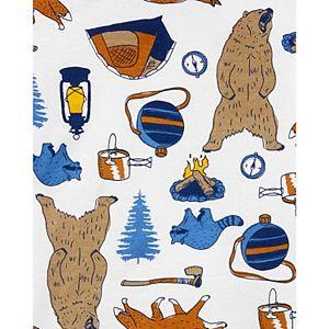 Boys 4-14 Carter's 4-Piece Cotton Bear Pajama Set