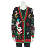 Women's US Sweaters Open Front Christmas Sweater Cardigan