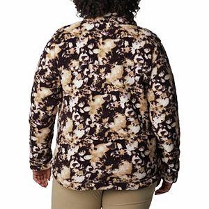 Plus Size Columbia West Bend Cozy Sherpa Fleece Jacket