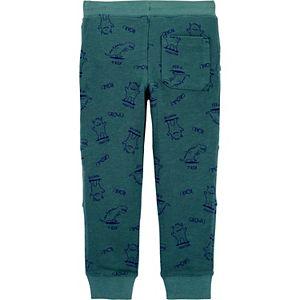 Baby Boy Carter's Dinosaur Print Pull-On Jogger Pants