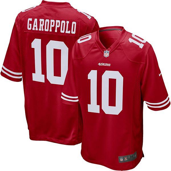 Men's Nike San Francisco 49ers Jimmy Garoppolo Jersey