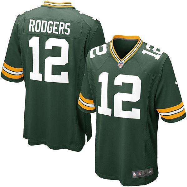 Men's Nike Green Bay Packers Aaron Rodgers Jersey
