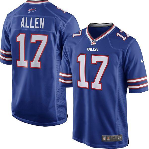 Men's Nike Buffalo Bills Josh Allen Jersey