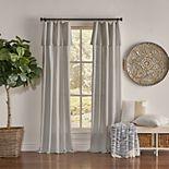 Drop Cloth 1-panel Light Filtering Window Curtain