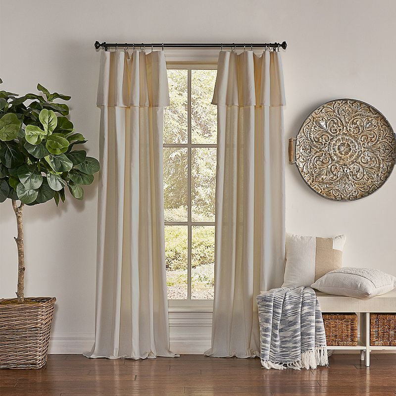 Filter light and keep your space looking trendt with this Drop cloth window curtain. Filter light and keep your space looking trendt with this Drop cloth window curtain. 1 panel included 50\\\'\\\' x 63\\\'\\\' Light filtering Rod pocketCONSTRUCTION & CARE Cotton Machine wash Imported Size: 50X63. Color: Beig/Khaki. Gender: unisex. Age Group: adult.