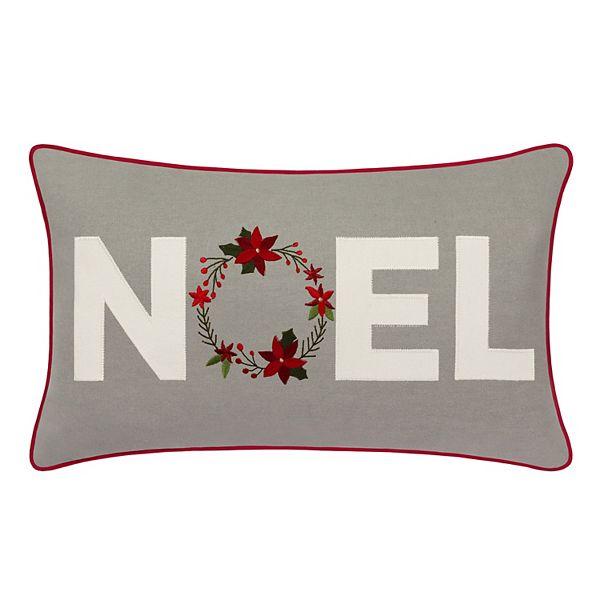St Nicholas Square Noel Throw Pillow