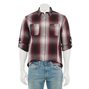 Men's Urban Pipeline® Plaid Button-Down Shirt