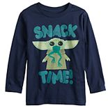 "Toddler Boy Jumping Beans® Star Wars The Mandalorian The Child aka Baby Yoda ""Snack Time"" Graphic Tee"