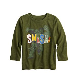 "Toddler Boy Jumping Beans® ""Smash"" Graphic Tee"