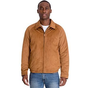 Big & Tall TOWER by London Fog Brighton Microsuede Stretch Hipster Jacket