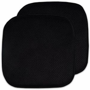 Popular Bath Honey Comb Chair Pad 2-pk.