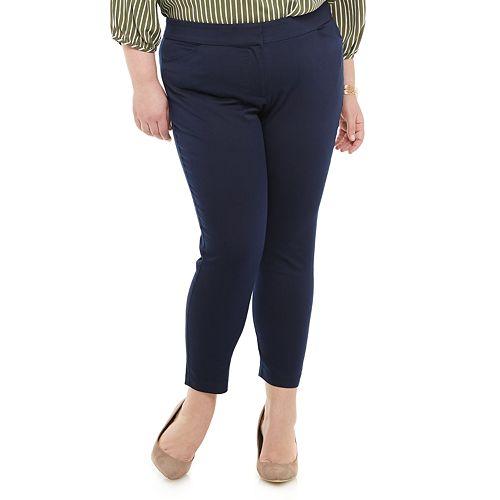 Plus Size EVRI™ Super Stretch Ankle Pants