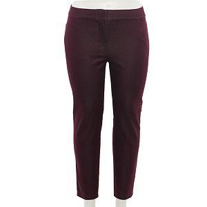 Plus Size EVRI Super Stretch Ankle Pants