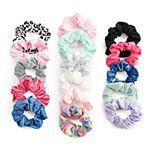 Girls Elli by Capelli 16-pack Mixed Scrunchie Set