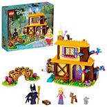 LEGO Disney Aurora's Forest Cottage 43188 Building Kit (300 Pieces)