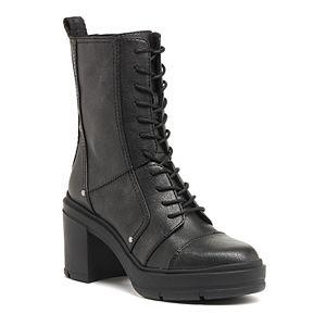 Rocket Dog Kenley Women's Platform High Heel Combat Boots