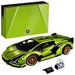 LEGO Technic Lamborghini Sián FKP 37 (42115) Model Car Building Kit (3,696 Pieces)