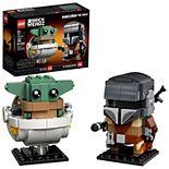 LEGO BrickHeadz Star Wars The Mandalorian & The Child 75317 LEGO Set (295 Pieces)