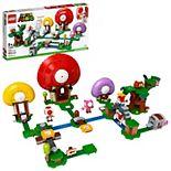 LEGO Super Mario Toad's Treasure Hunt Expansion Set 71368 Building Kit (464 Pieces)