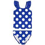 Toddler Girl Carter's Polka Dot Tankini & Bottoms Swimsuit Set