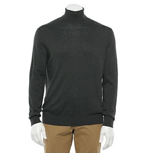 Men's Croft & Barrow® Regular-Fit Easy-Care Turtleneck Sweater