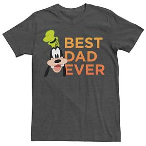 Men's Disney Mickey & Friends Father's Day Goofy Best Dad Ever Tee