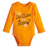 Baby Neutral Jumping Beans® Long Sleeve Rib Bodysuit