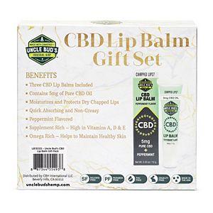 Uncle Bud's CBD Lip Balm Gift Set