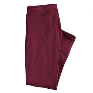 Women's Croft & Barrow® Classic Pull On Straight-Leg Pants