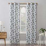 No. 918 Sora Casual Textured Semi-Sheer Grommet Window Curtain