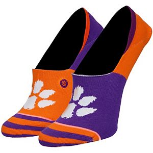 Women's Stance Clemson Tigers Super Invisible Logo Ankle Socks