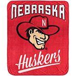 The Northwest Nebraska Cornhuskers 50'' x 60'' Alumni Raschel Plush Throw Blanket
