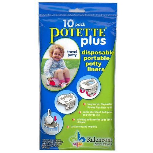 Kalencom 10-pk. Potette® PlusLiners