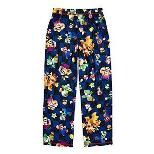 Boys 8-16 Super Mario Character Pajama Pants