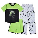 Boys 4-16 Cuddl Duds® Top, Shorts & Pants Pajama Set