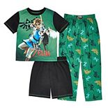 Boys 6-16 Legends of Zelda 3-piece Pajama Set