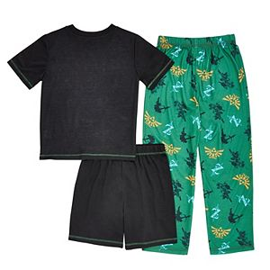 Boys 6-16 Legends of Zelda 3-piece Pajama Set