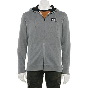Men's Vans Combo Full-Zip Fleece Hoodie