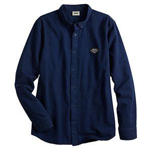 Men's Vans Wilton Crest Button-Down Shirt